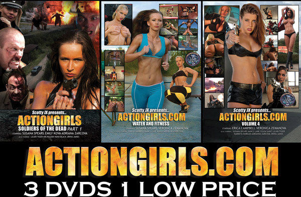 Actiongirls 3 Pack Volume 2