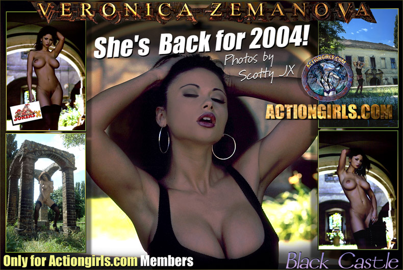 Over 5000 Veronica Zemanova Pics  inside Actiongirls Member's Area