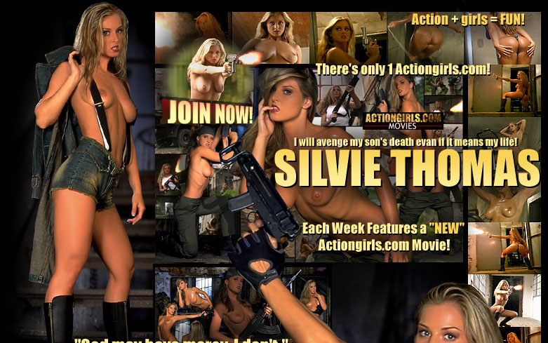 Actiongirls.com presents... Silvie Thomas