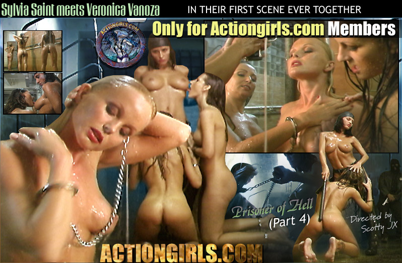 Sylvia Saint meets Veronica Vanoza for the first time ever! Only for Actiongirls.com Members