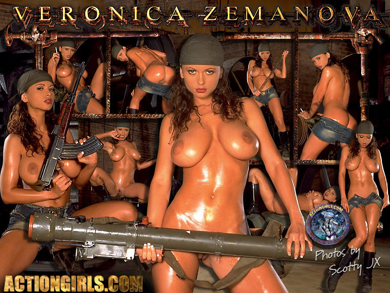 Over 5000 Actiongirl Veronica Zemanova Pics & Movies - Only for Actiongirls.com Members