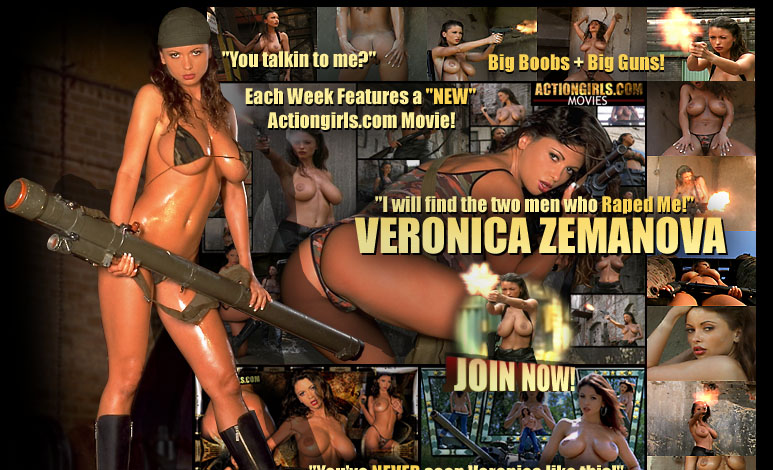 Actiongirls.com presents Actiongirl Veronica Zemanova! Join Now! Click Here!