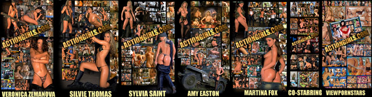 "WITH OVER 45,000 ""EXCLUSIVE"" ACTIONGIRLS.COM PICTURES &  ""NEW"" ACTIONGIRLS MOVIES EACH WEEK!"