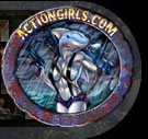 The Actiongirls.com Shark Logo